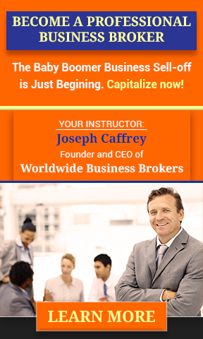 Become a Professional Business Broker. Course Starts Nov 4th. Learn More!